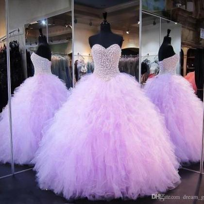 Lavender Quinceanera Dresses Ball G..