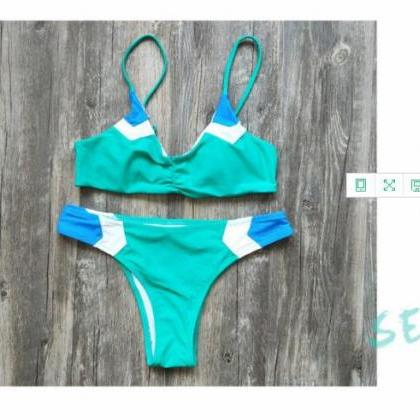 Women Fashion Swimsuits Sexy Bikin..