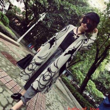 Women Winter Autumn Sweather Long S..