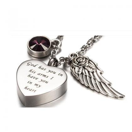 Unique call heart urn funeral ashes..