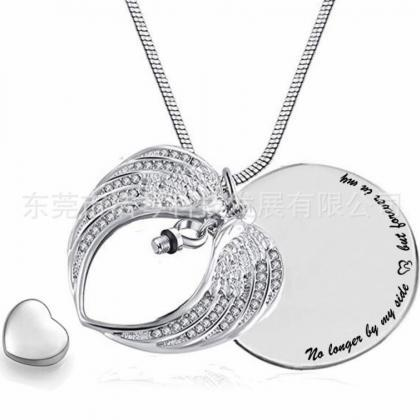 Stainless Steel Cremation Necklace ..