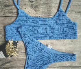 Blue Fashion Swimsui..