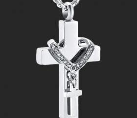 Crystal Collar Cross..