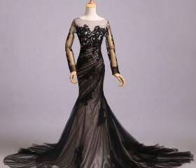 Fashion Black Tulle ..