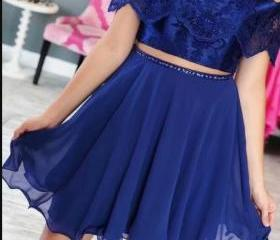 Royal Blue Lace Two ..
