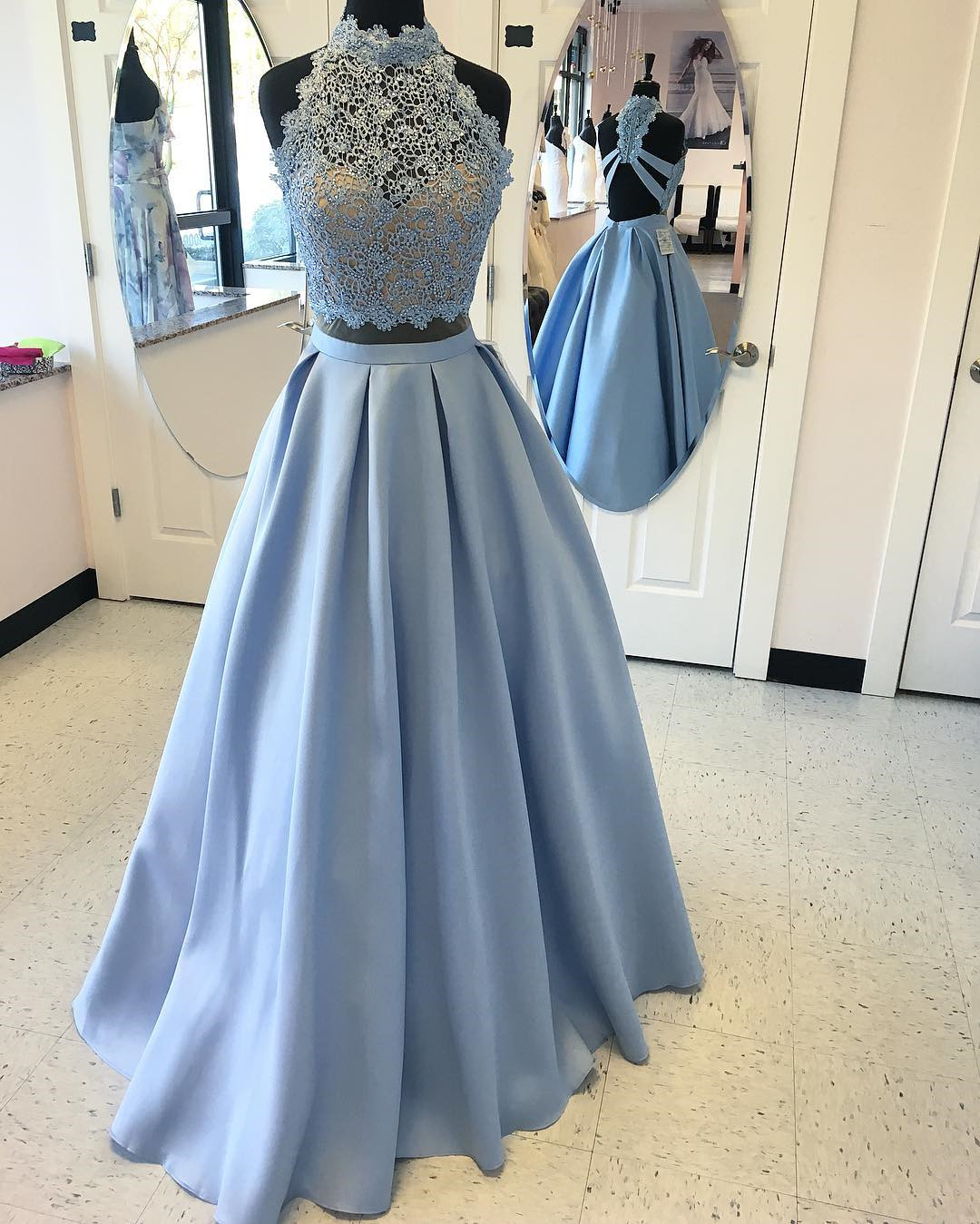 Light Blue Prom Dresses aa9281cae