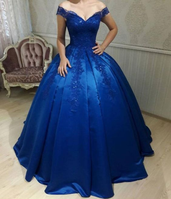 Royal Blue Formal Ball Gowns