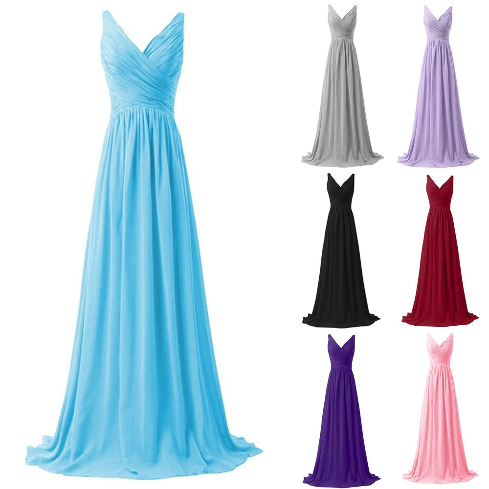 Vintage Red Chiffon Bridesmaid Dresses Prom Dresses Plus Size ...