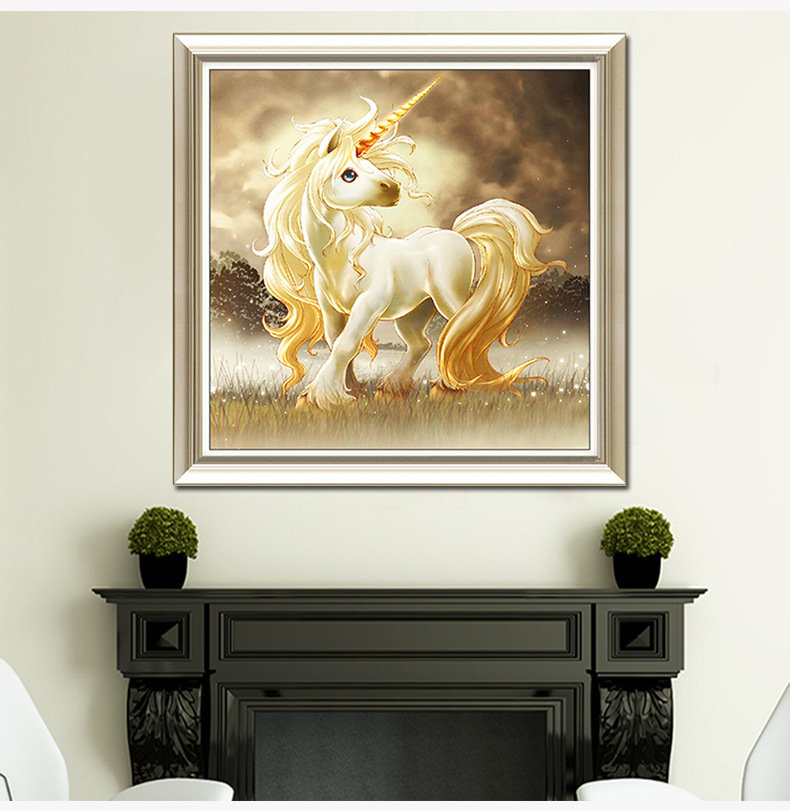 Full,Diamond Embroidery,Animal,Unicorn,5D,Diamond Painting,Cross Stitch,3D,Diamond Mosaic,Needlework,Crafts,Christmas,Gift,diamond painting accessories,