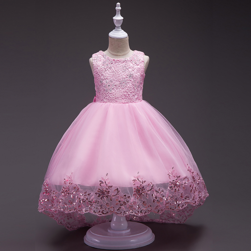 Little Girl Party Holy Communion Dresses Pageant Gowns Kids, Pink ...