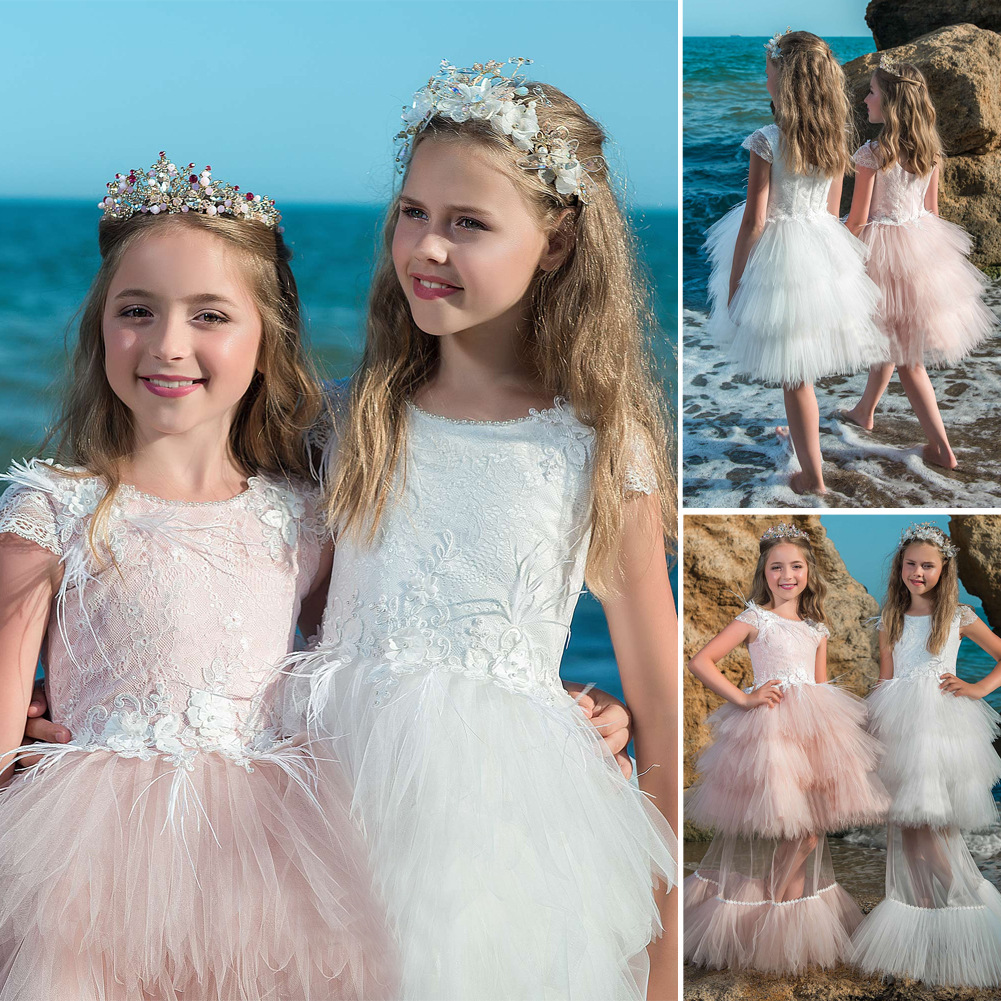 New Arrival Flower Girls Dresses,Two Pieces Wedding Girls Gowns ...