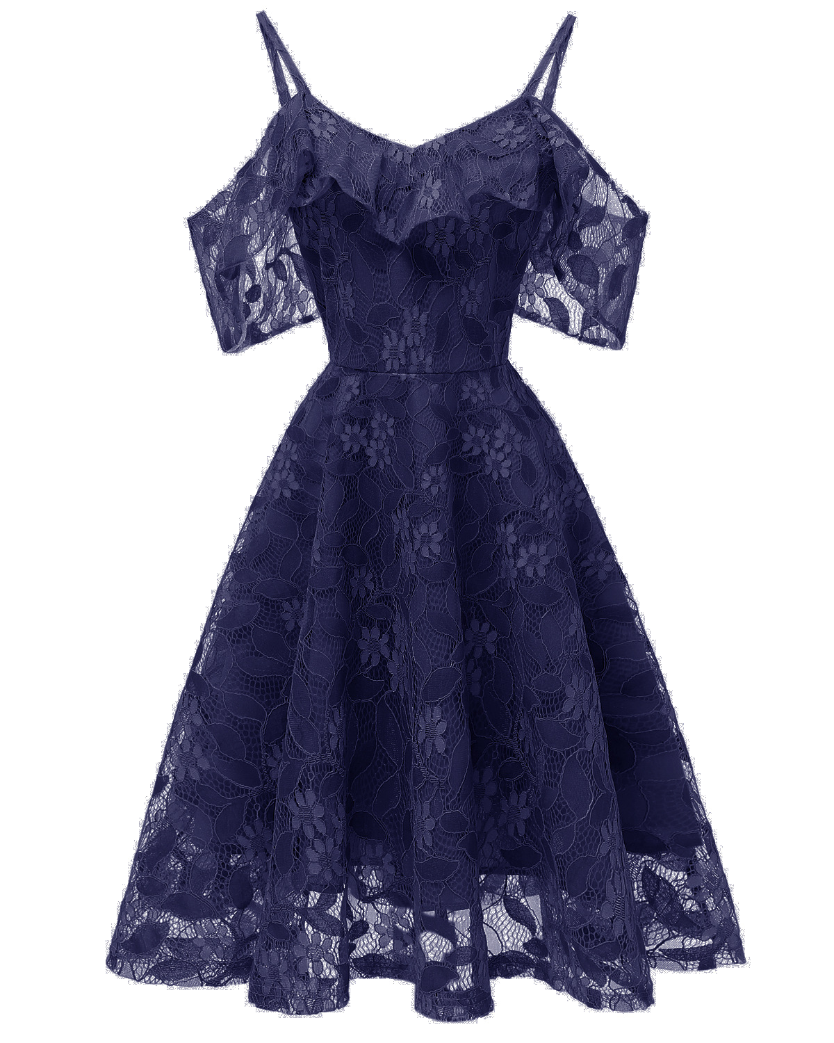 Cheap Navy Blue Short Lace Dress A Line Women Bridesmaid Party Gowns Soft Lace Homecoming Maix Dresses Cheap. Mini Party Gowns ,Short Summer Dress, Above Length pARTY gOWNS
