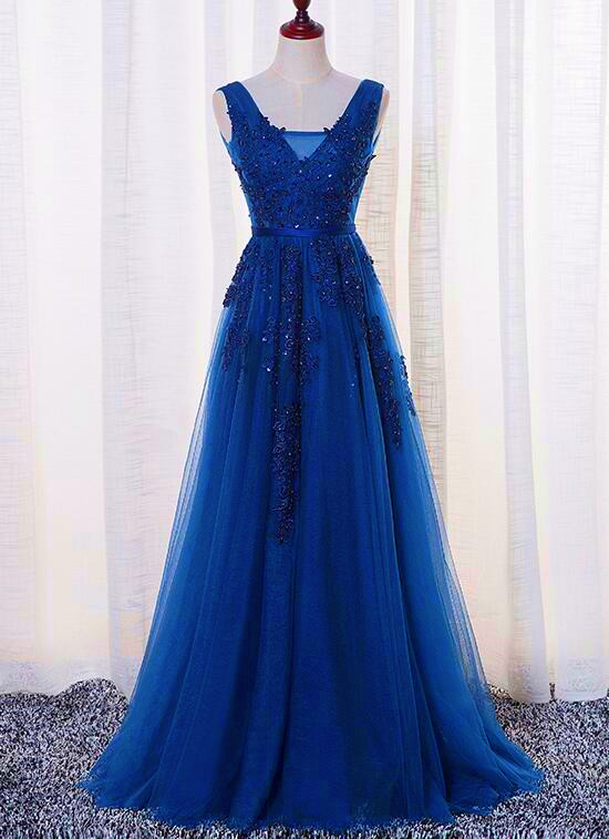 Sexy V-Neck Lace Long Prom Dresses Sexy Backless Women Party Gowns Custom Made Pageant Gowns ,Wedding Party Gowns