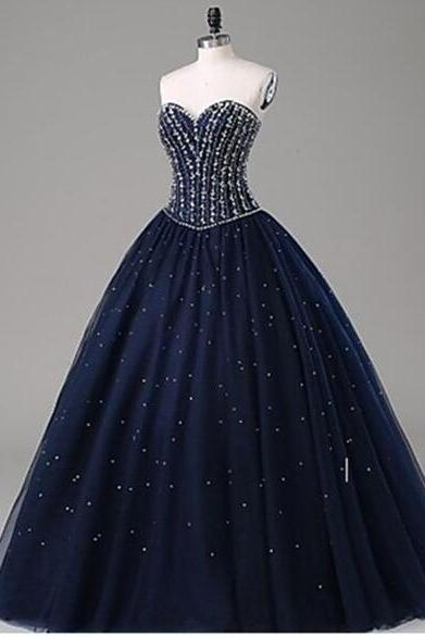 Prom Dress,Sexy Elegant Prom Dresses,Dark Navy Sweetheart Prom Dress,Long Prom Dresses,Charming Prom Dresses,Evening Dress Prom Gowns, Formal Women Dress,prom dress,High Quality Graduation Dresses,Wedding Guest Prom Gowns, Formal Occasion Dresses,Formal Dres