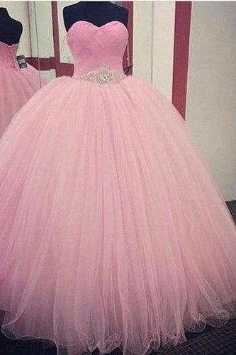 Vestidos de 15 anos Quinceanera Dresses Special Occasion Dresses Ball Gown Cheap Quinceanera Gown,2018 New Top Beaded Long Prom Dress, Wedding Party Dresses,Green Tulle Prom Dresses, Luxury Crystal Formal Pricess Wedding guest Gowns