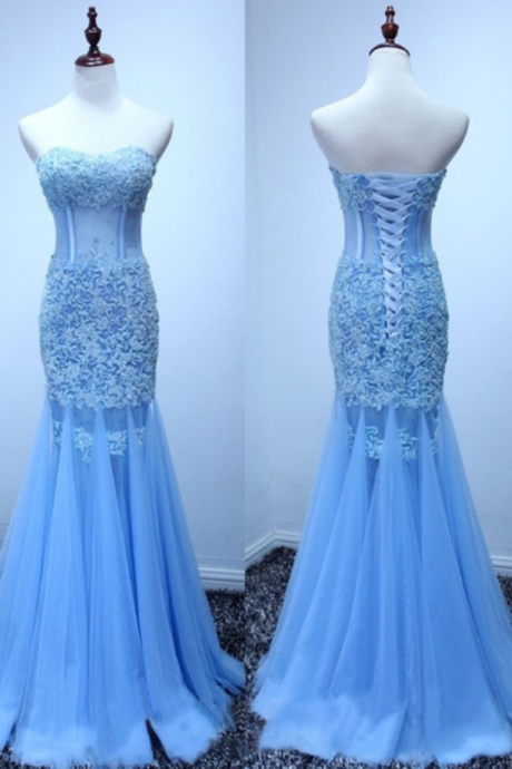 Real Made Mermaid Sexy Appliques Prom Dresses,Long Evening Dresses,Prom Dresses 2018 New Arrival Sexy Weding Party Gowns ,Girls Pageant Gowns .