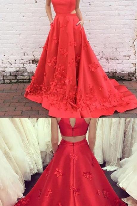 Charming O-Neck A-Line Prom Dresses,Long Prom Dresses,Green Prom Dresses, Evening Dress Prom Gowns, Formal Women Dress,Prom Dress,2018 Halter Wedding Guest Gowns
