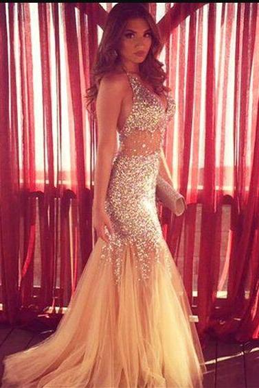 Sparkly Prom Dresses,Long Prom Dresses,2017 Prom Dresses,Mermaid Prom Dresses,Sexy Prom Dresses,Backless Prom Dresses,Evening Dresses,Women Dresses,Plus Size Women Party Gowns .