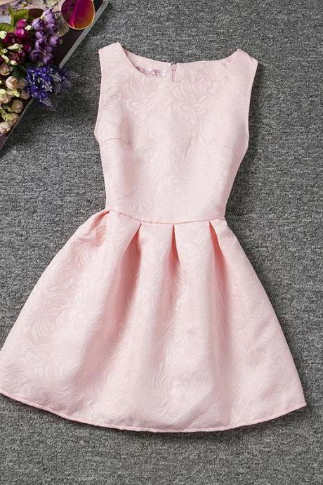 Pink Little Girls paty Dress, Flowers Girls Dresses,