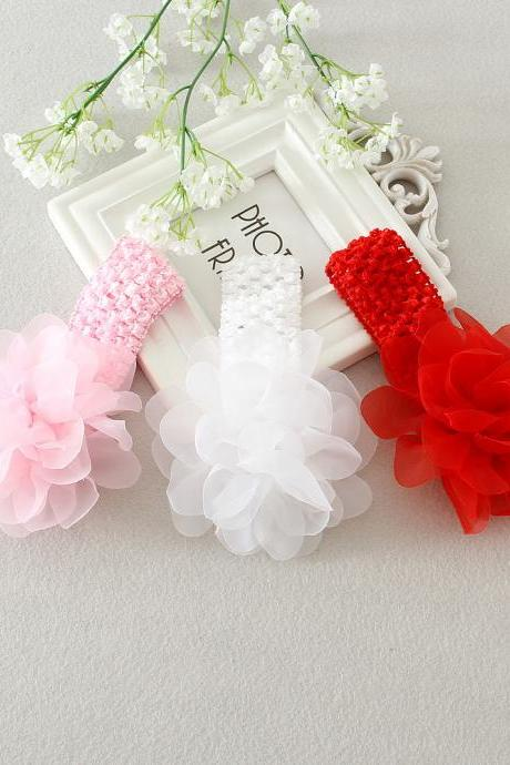 Beauty Flower Gilr s Headband For Girl Headdress Flower For Wedding Flower Girls .Lovely little girl HeadedBand Decoration