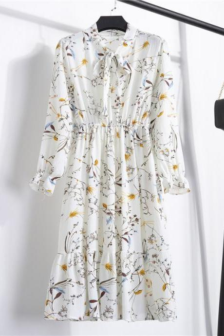 Fashion Women Chiffon Dress, Women Print Dress, Girls Pary dress, Formal Evening Dress, Sexy Evening Gowns