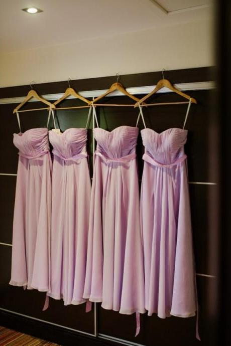 Off Shoulder Sexy Lavender Chiffon Ruched Long Bridesmaid Dress 2019 Custom Made Country Bridesmaid Gowns Long Maid Of Honor Gowns