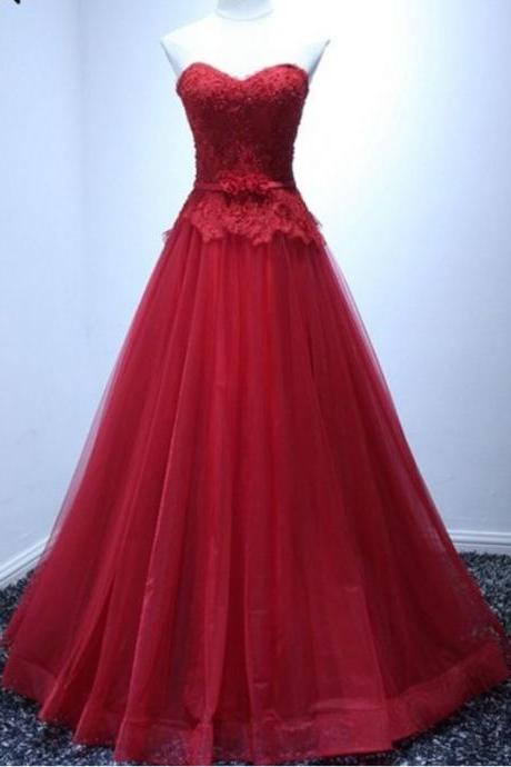 Sexy A Line Lace Beaded Long Prom Dresses With Appliqued Elegant Floor Length Formal Evening Dress, Cheap Prom Gowns
