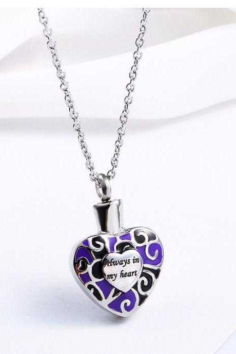 Bullet Pendant Fragrance Bottle Locket Lord's Prayer Cross Necklace for Christian cremation ash necklace keepsake urn memorial jewelry Hello