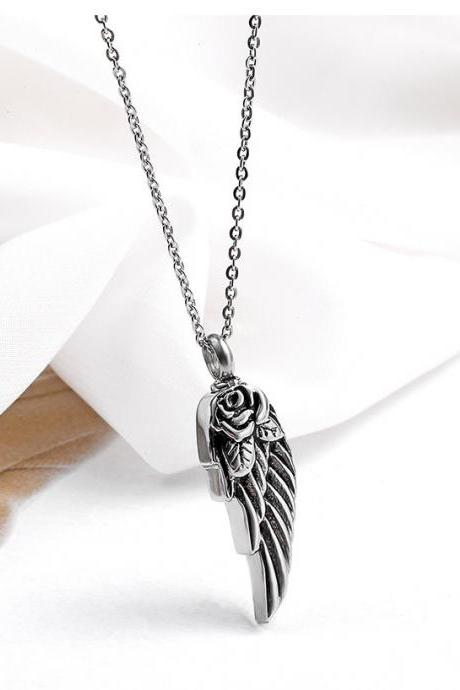 Fashion Cremation Urns Necklace ashes holder memorial jewelry keepsakes funeral accessories