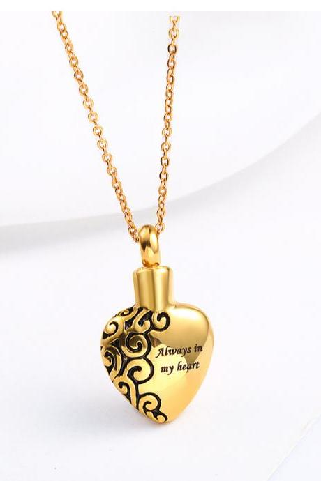 Bullet Pendant Fragrance Bottle Locket Lord's Prayer Cross Necklace for Christian cremation ash necklace keepsake urn memorial jewelry