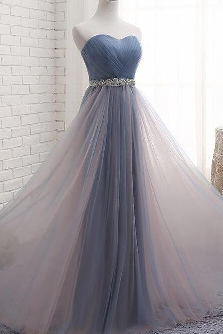 Charming Beaded Strapless Long Prom Dress Custom Made Women Pageant Gowns Plus Size Wedding Guest Gowns 2020