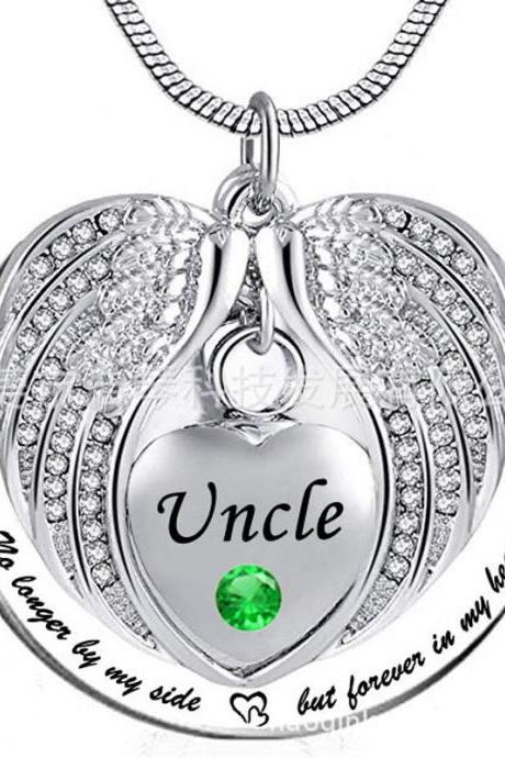 Stainless Steel Cremation Necklace Pendant Ashes Keepsake Memorial Jewelry Cheap urn memorial jewelry For Uncle