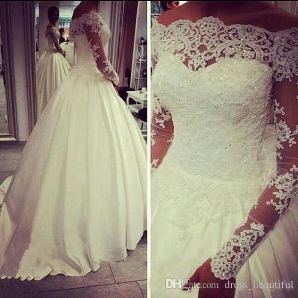 2018 Plus Size Wedding Dresses Vestido de novia Ball Gown New arrival princess Wedding dress butterfly Wedding gown,White Appliqued Wedding Dresses, Lace Country Bridal Gowns