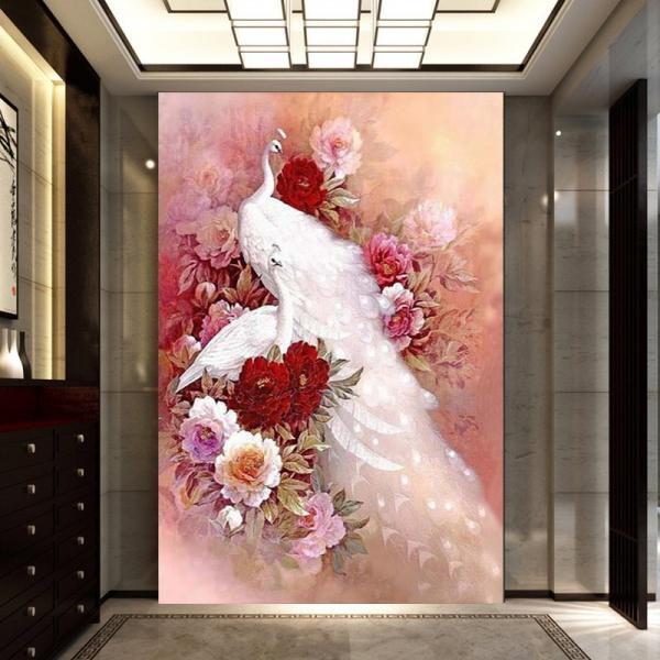 Special Shaped,Diamond Embroidery,China,Animal,Peacock,5D,Diamond Painting,Cross Stitch,3D,Diamond Mosaic,Decoration,diamond mosaic paintings,Embroidery Cross Stitch