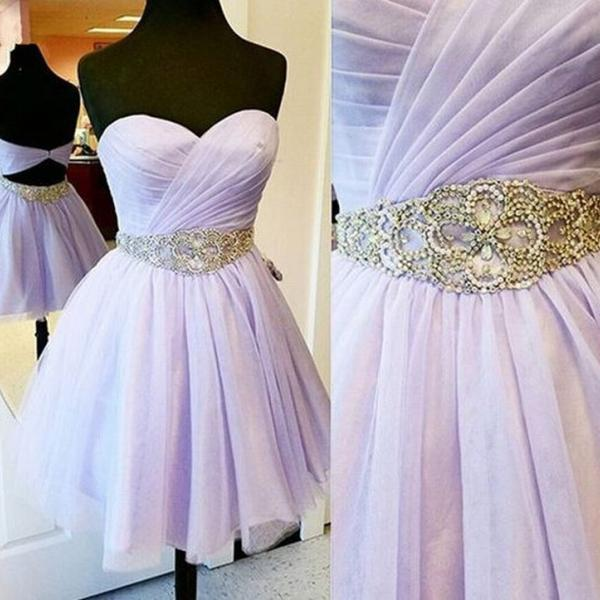 High Quality Homecoming Dress Beading Homecoming Dress Chiffon Graduation Dress Sweetheart Short Prom Dress,Sexy Beaded Mini Cocktail Dresses, Wedding Party Gowns .